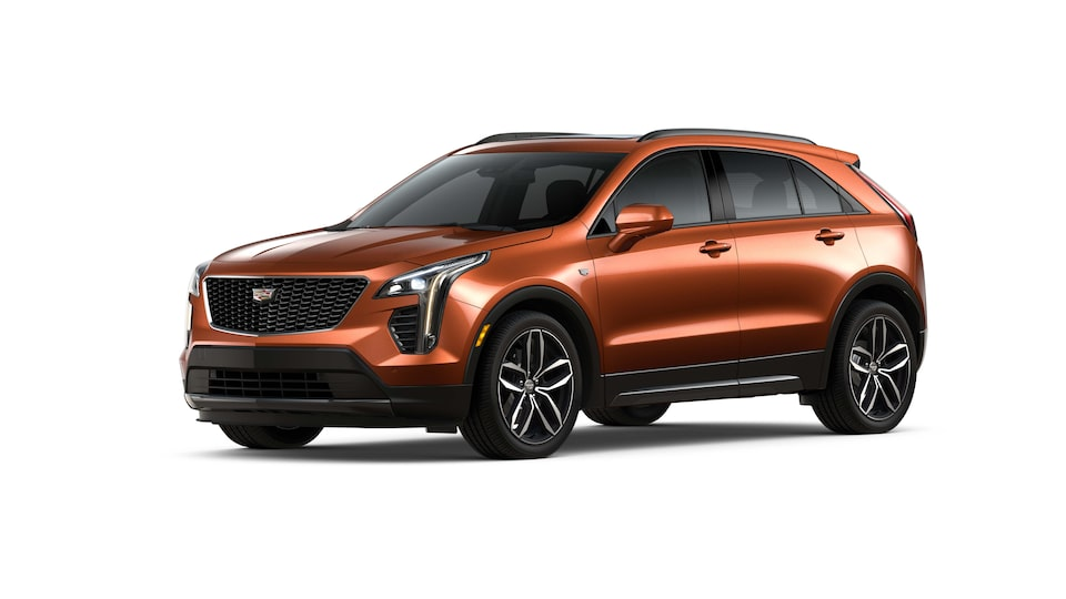 Cadillac XT4 2019 camioneta pequeña color autumn metallic