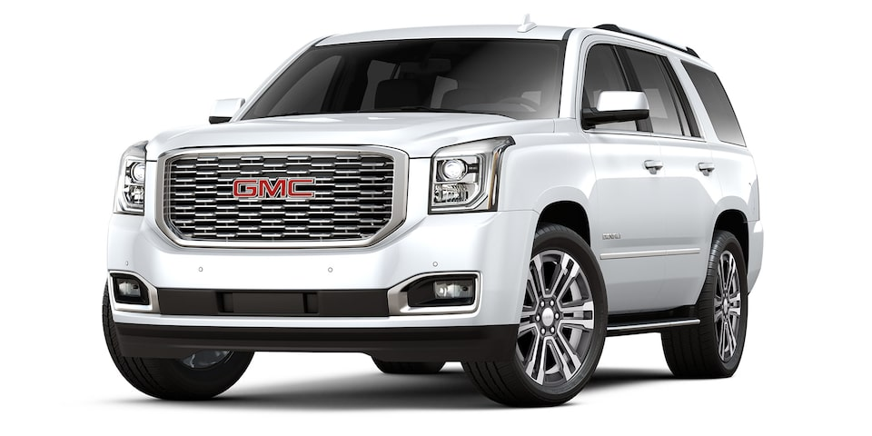 Yukon Denali 2020 en color blanco